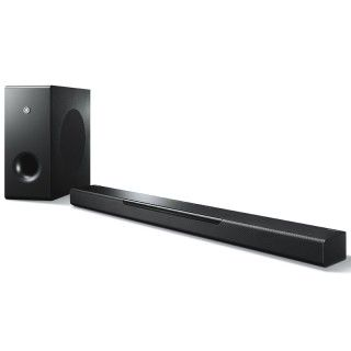 Yamaha MusicCast BAR 400 ATS-4080 Black Soundbar MusicCast Wi-Fi Subwoofer Wireless