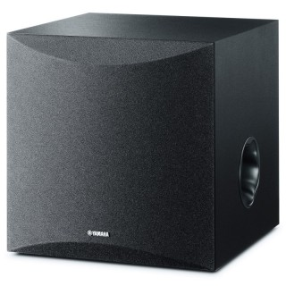 Yamaha NS-SW050 Black Subwoofer 100W Woofer 20cm Advanced YST II Twisted Flare Port