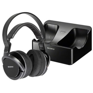 Sony MDR-RF855R-K Cuffie Wireless Radiofrequenza Distanza Max 100 metri