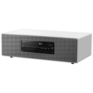 Panasonic SC-DM502E-W White Hi-Fi All-in-one DAB+ FM CD USB Optical Aux Bluetooth 40W