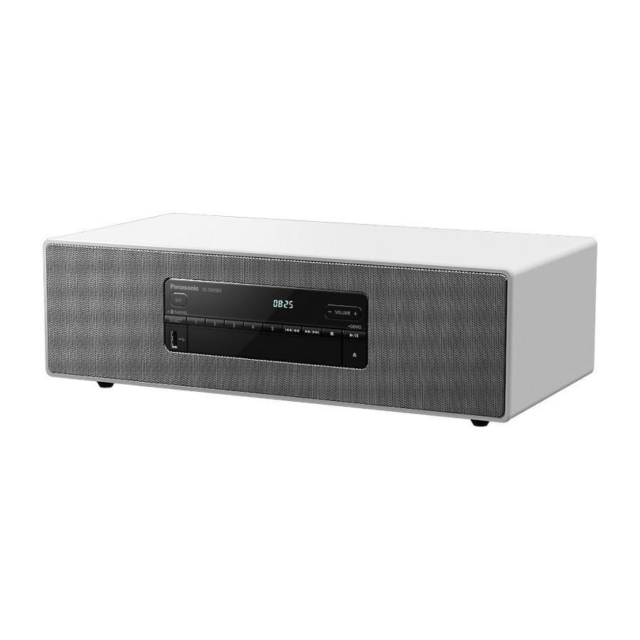 Panasonic SC-DM502E-W White Hi-Fi All-in-one DAB+ FM CD USB Optical Aux Bluetooth 40W