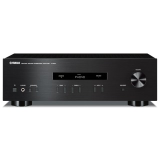 Yamaha A-S201 Black Amplificatore Integrato 115W x2 Ingresso Phono