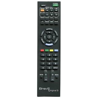 Bravo Original 3 Telecomando di Ricambio per TV Sony