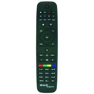 Bravo Original 4 Telecomando di Ricambio per TV Philips