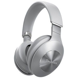 Technics EAH-F70N Silver Cuffie Wireless Bluetooth Hybrid Active Noise Cancelling 20h