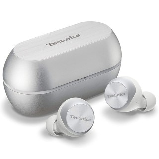 Technics EAH-AZ70WE-S Silver Auricolari Bluetooth NoiseCancelling Autonomia6.5h Custodia ComandiVocali