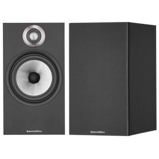 Bowers&Wilkins 606 S2 Anniversary Edition Black Coppia Casse Scaffale 120W 2vie Bass Reflex