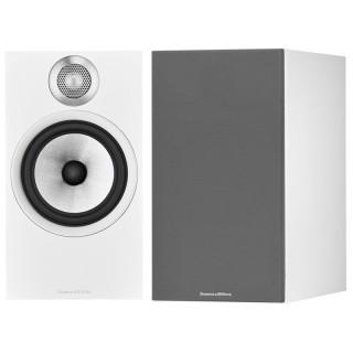 Bowers&Wilkins 606 S2 Anniversary Edition White Coppia Casse Scaffale 120W 2vie Bass Reflex