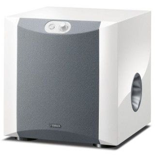 Yamaha NS-SW200WH2 PianoWhite Subwoofer 130W Woofer 20cm PWM Adv YST II Twisted Flare Port