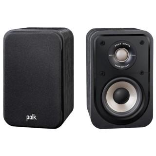 Polk Audio S10e Washed Black Walnut Coppia Casse Scaffale 100W 2vie Power Port