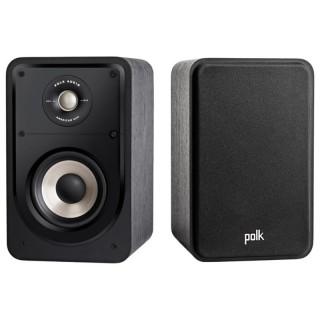 Polk Audio S15e Washed Black Walnut Coppia Casse Scaffale 125W 2vie Power Port