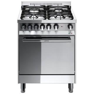 Lofra M66GV/C Maxima Inox Cucina L.60 P.60 A.85-90,5 Forno Gas Ventilato