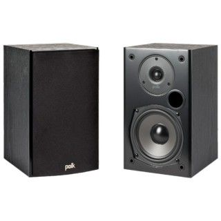 Polk Audio T15 Black Coppia Casse Scaffale 100W 2vie BassReflex