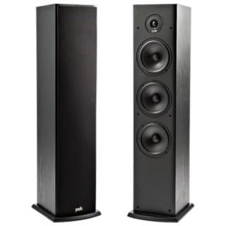 Polk Audio T50 Black Coppia Casse Pavimento 150W 3vie BassReflex