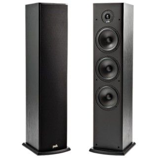 Polk Audio T50 Black Coppia Casse Pavimento 150W 3vie BassReflex