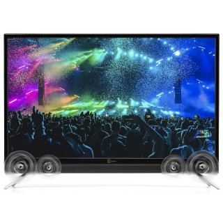 TeleSystem Sound 32 LED08 TV 32' LED HD DVB-T2 DVB-S2 HEVC 10bit