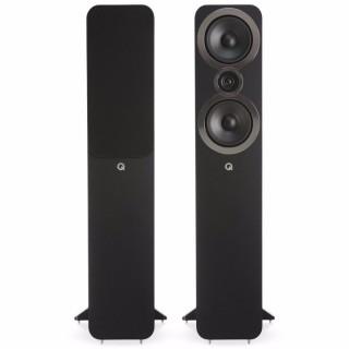Q Acoustics 3050i Carbon Black Coppia Casse Pavimento 100W 2vie T2,2 2xW16,5 BassReflex