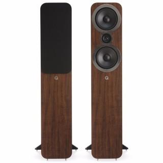 Q Acoustics 3050i English Walnut Coppia Casse Pavimento 100W 2vie T2,2 2xW16,5 BassReflex