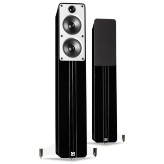 Q Acoustics Concept 40 Black HighGloss Coppia Casse Pavimento 150W 2vie T2,5 2xW12,5 BassReflex