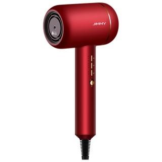 Jimmy F6 Ruby Red AsciugaCapelli Ultrasonico 1800W Nano Ioni 2 Bocchette 1 Diffusore