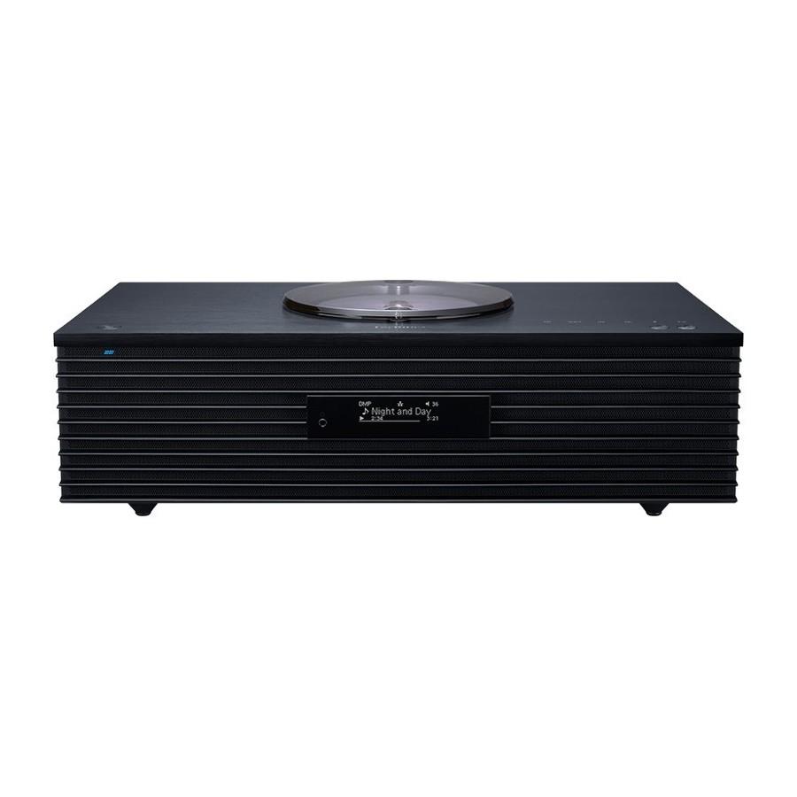 Technics SC-C70MK2EGK Ottava Black Hi-Fi All-in-One DAB CD USB Aux BT AirPlay2 MultiRoom Wi-Fi 100W