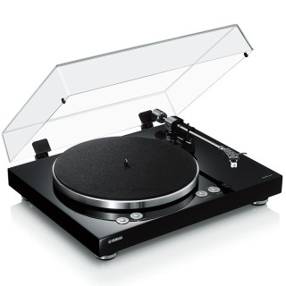 Yamaha MusicCast Vinyl 500 TT-N503 Black Giradischi a cinghia 33/45giri Wi-Fi Bluetooth AirPlay
