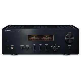 Yamaha A-S1200 Black-Piano Amplificatore HiEnd 160W x2 Trasformatore Toroidale VU-Meter