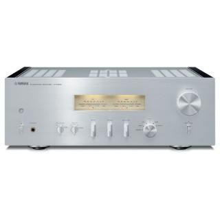 Yamaha A-S1200 Silver-Piano Amplificatore HiEnd 160W x2 Trasformatore Toroidale VU-Meter