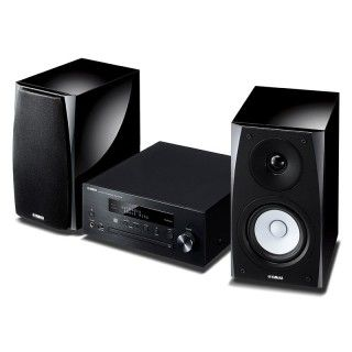 Yamaha MusicCast MCR-N570D Black Sistema HiFi DAB CD USB Aux Bluetooth AirPlay 22Wx2