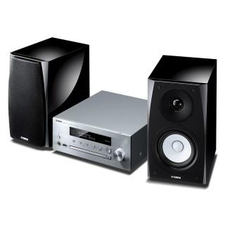Yamaha MusicCast MCR-N570D Silver Sistema HiFi DAB CD USB Aux Bluetooth AirPlay 22Wx2