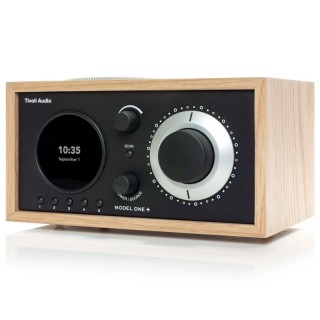 TivoliAudio Model One+ Oak/Black Radio DAB/DAB+ FM Bluetooth Aux Orologio Sveglia