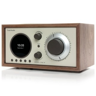 TivoliAudio Model One+ Walnut/Beige Radio DAB/DAB+ FM Bluetooth Aux Orologio Sveglia