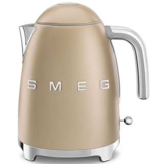 Smeg KLF03CHMEU Oro Opaco 50's Style Bollitore 1,7 litri 7 Tazze Soft Opening AutoOFF 100°C