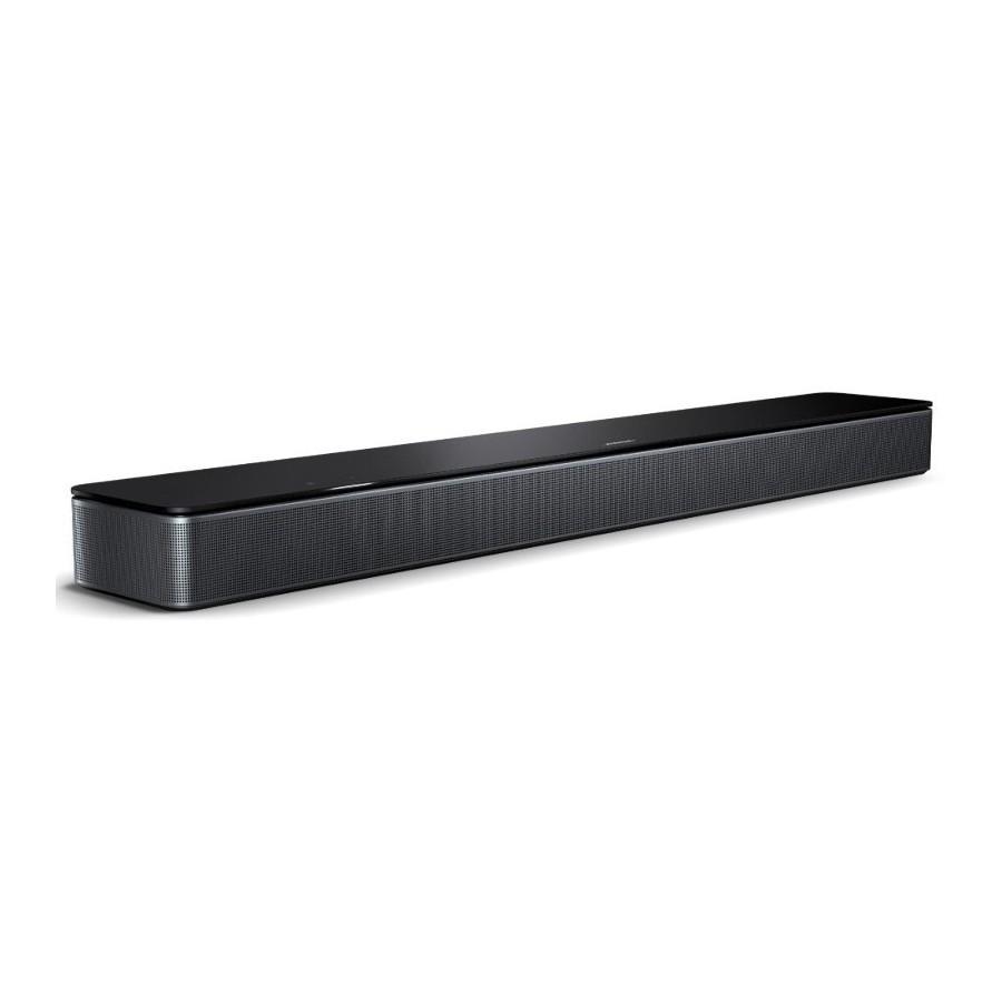 Bose Smart Soundbar 300 Black QuietPort Voice4Video SimpleSync Bluetooth AirPlay2 Wi-Fi