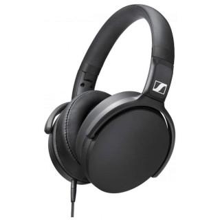 Sennheiser HD 400S Black Cuffia Padiglione Pieghevole Microfono Comandi Remoti Jack 3,5mm