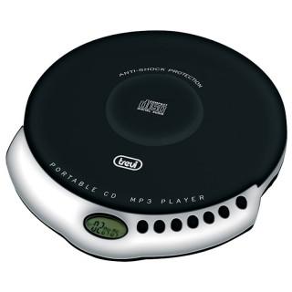 Trevi CMP498 Black Lettore CD MP3 Portatile ESP CD 60sec MP3 120sec 2x Pile AA