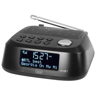 Trevi RC80D4DAB Black Radiosveglia DAB/DAB+ FM 30memorie Snooze Sleep