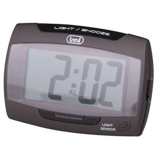 Trevi SLD3065 Black Orologio Digitale Display LCD Sensore Illuminazione Automatica Sveglia
