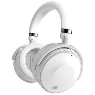Yamaha YH-E700A White Cuffia Bluetooth ANC Listening Optimizer Listening Care Assistenti Vocali