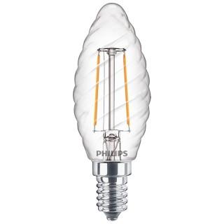Philips Oliva Torciglione Filamento LED E14 2W Equivalente 25w 230V 2700K