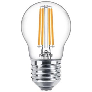 Philips Sfera Filamento LED 6.5W E27 Equivalente 60w 230V 2700K