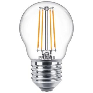Philips Sfera Filamento LED 4.3W E27 Equivalente 40w 230V 2700K