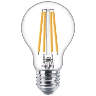 Philips Goccia Filamento LED 10.5W E27 Equivalente 100w 230V 2700K