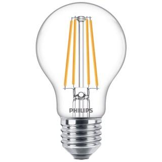 Philips Goccia Filamento LED 8.5W E27 Equivalente 75w 230V 2700K