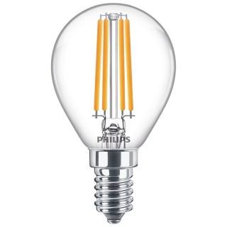 Philips Sfera Filamento LED 6.5W E14 Equivalente 60w 230V 2700K