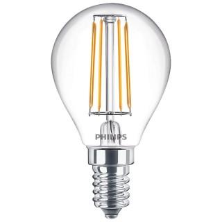 Philips Sfera Filamento LED W E14 Equivalente 40w 230V 2700K