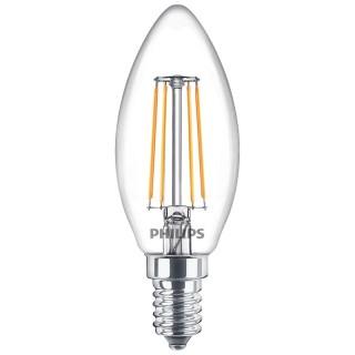Philips Oliva filamento LED E14 4.3W Equivalente 40w 230V 2700K