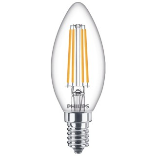 Philips Oliva filamento LED E14 6.5W Equivalente 60w 230V 2700K