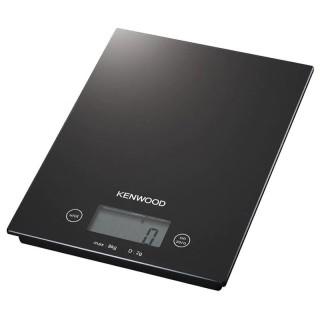 Kenwood DS400.B Nera Pesa Alimenti Elettronica Max8Kg Frazione 1g Superficie Vetro