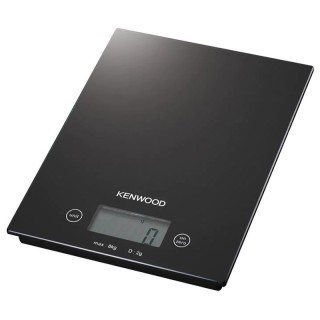 Kenwood DS400.B Nera Pesa Alimenti Elettronica Max8Kg Frazione 2g Superficie Vetro